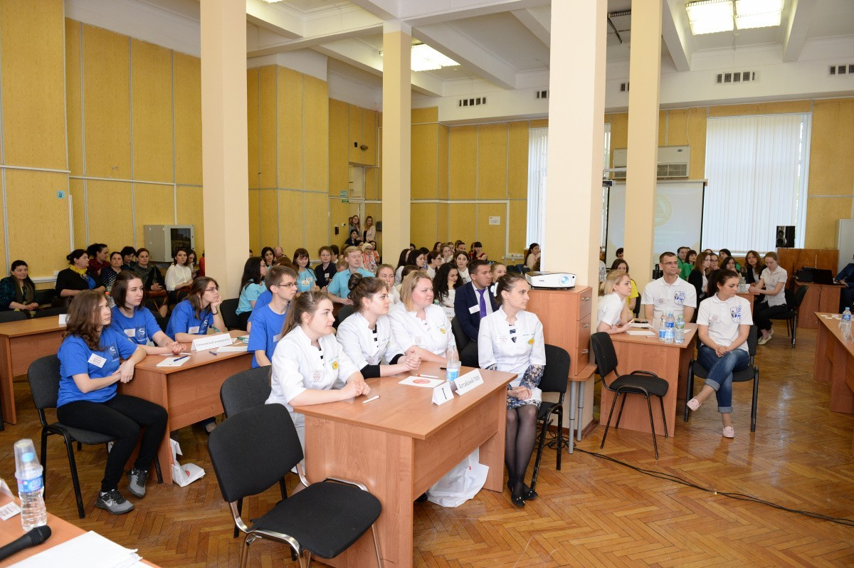 Студенты медицинских вузов встретились на Олимпиаде по эпидемиологии