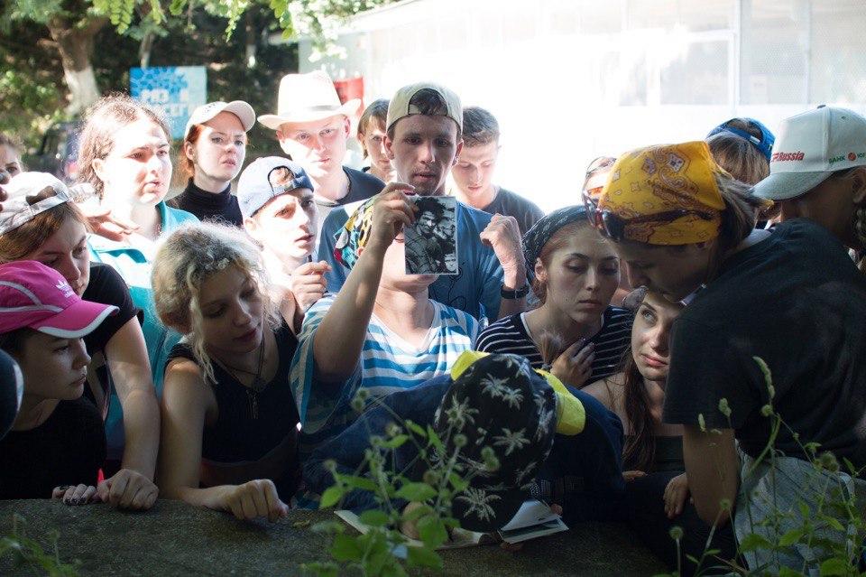 Отдыхающие лагеря «Сеченовец» окунулись в атмосферу времён Великой Отечественной войны