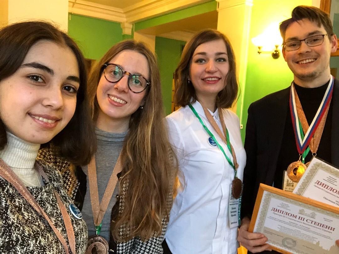 Студенты ЦНК стали призерами Третьего всероссийского биологического турнира