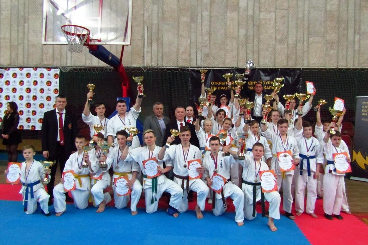 Сеченовский университет провёл два крупных турнира по Ашихара-каратэ