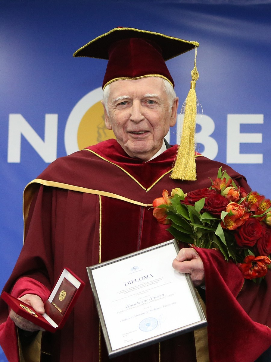 Харальд цур Хаузен избран Почетным профессором Сеченовского университета