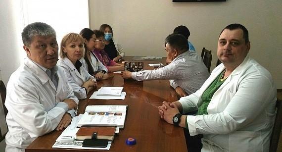 Врачи Сеченовского университета помогают коллегам из Республики Калмыкия